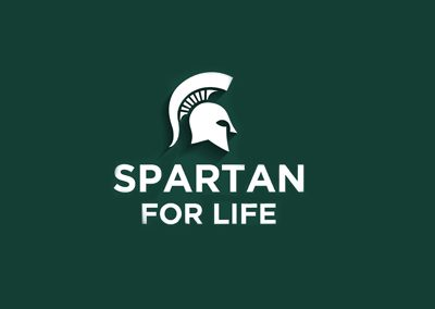 Spartan For Life - Custom Logo Design Services