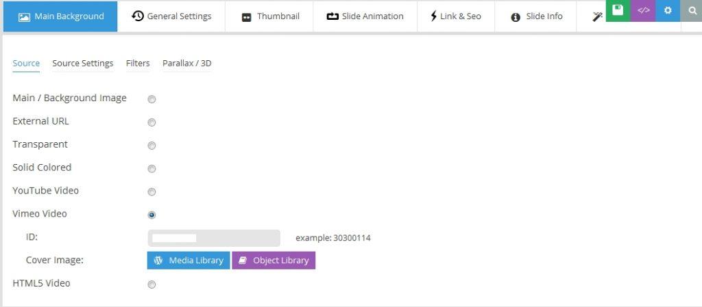 Loop Video on Slider Revolution | Digital Marketing Agency India