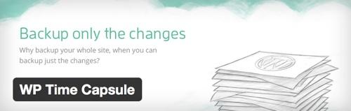 WP Time Capsule - Free WordPress Backup Plugin