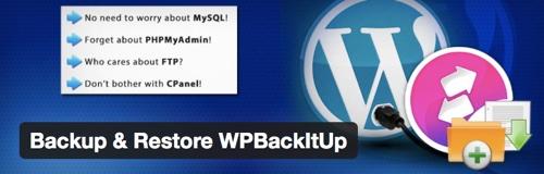 WPBackItUp - WordPress Backup Plugin