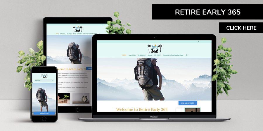 Retire Early 365 - Retirement Planning Website Design